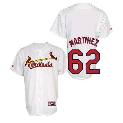Carlos Martinez #62 Youth Baseball Jersey-St Louis Cardinals Authentic Home Jersey by Majestic Athletic MLB Jersey