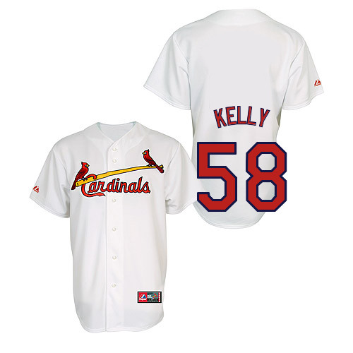 Joe Kelly  58 Youth Baseball Jersey-St Louis Cardinals Authentic Home Jersey  by Majestic a2b1aa9a9