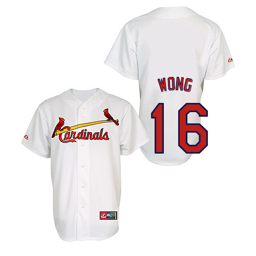 Kolten Wong #16 Youth Baseball Jersey-St Louis Cardinals Authentic Home Jersey by Majestic Athletic MLB Jersey