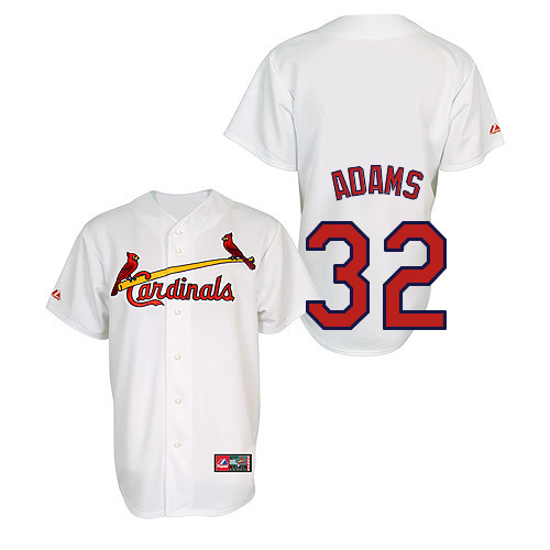 Matt Adams #32 Youth Baseball Jersey-St Louis Cardinals Authentic Home Jersey by Majestic Athletic MLB Jersey