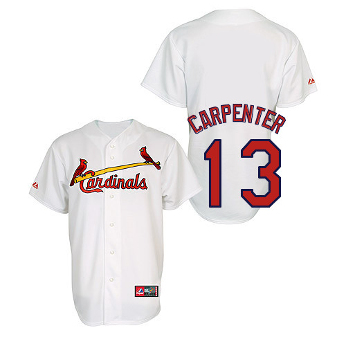 Matt Carpenter #13 Youth Baseball Jersey-St Louis Cardinals Authentic Home Jersey by Majestic Athletic MLB Jersey