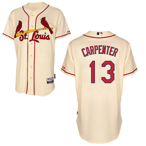 Matt Carpenter #13 mlb Jersey-St Louis Cardinals Women's Authentic Alternate Cool Base Baseball Jersey