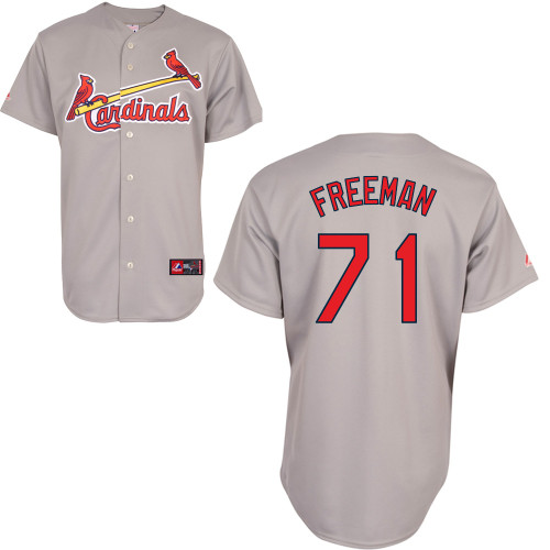 Sam Freeman #71 Youth Baseball Jersey-St Louis Cardinals Authentic Road Gray Cool Base MLB Jersey
