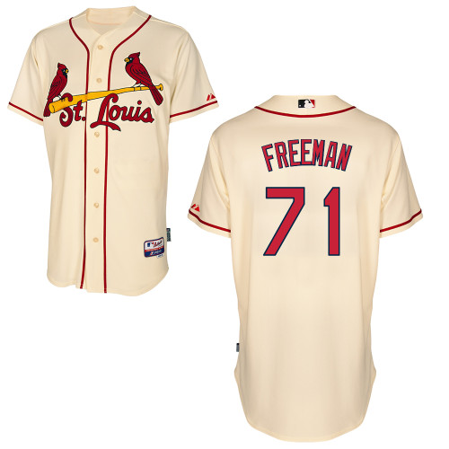 Sam Freeman #71 MLB Jersey-St Louis Cardinals Men's Authentic Alternate Cool Base Baseball Jersey