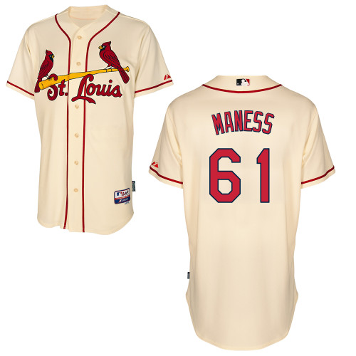 Seth Maness #61 Youth Baseball Jersey-St Louis Cardinals Authentic Alternate Cool Base MLB Jersey