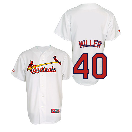 Shelby Miller #40 Youth Baseball Jersey-St Louis Cardinals Authentic Home Jersey by Majestic Athletic MLB Jersey