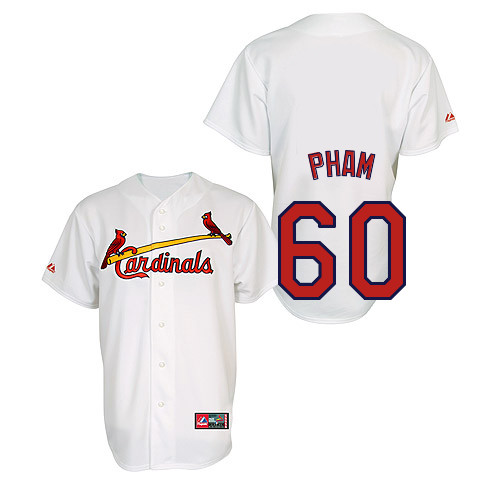Tommy Pham #60 Youth Baseball Jersey-St Louis Cardinals Authentic Home Jersey by Majestic Athletic MLB Jersey