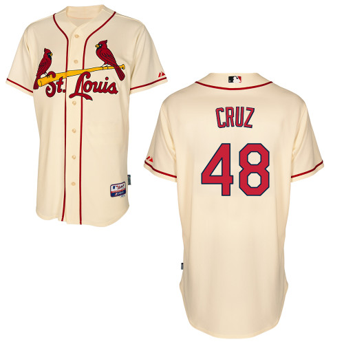 Tony Cruz #48 Youth Baseball Jersey-St Louis Cardinals Authentic Alternate Cool Base MLB Jersey