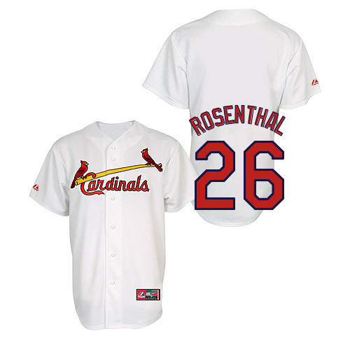 Trevor Rosenthal #26 Youth Baseball Jersey-St Louis Cardinals Authentic Home Jersey by Majestic Athletic MLB Jersey